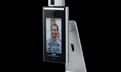 DAHUAタブレット型体温測定機能付き顔認証端末を発売